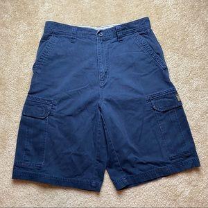 Aeropostale Navy Blue Men's Cargo Shorts Size 30